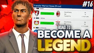 "ROAD TO BECOME A LEGEND! PES 2019 #16 "" MANNY OFF TO THE SAN SIRO! AC MILAN CALLING!"""