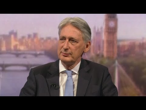 Philip Hammond confirms he will resign on Wednesday as he cannot accept Boris's no-deal