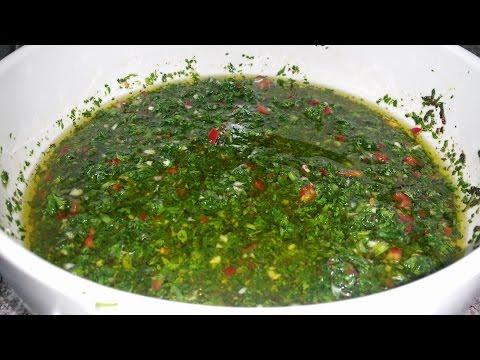 Receta de Salsa chimichurri # 1