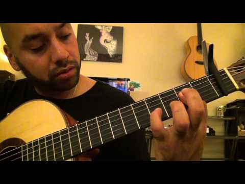 Baby Bash - Suga Suga Ft. Frankie J GUITAR TUTORIAL - Lesson by Esteban Dias