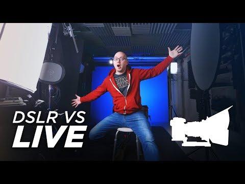 DSLR VS LIVE! - New Live Stream Setup & Gear