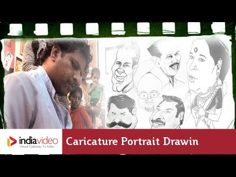 Caricature Portrait Drawing