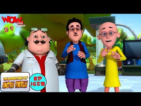 Kakek jutawan dari Dr. Jhatka - Motu Patlu dalam Bahasa - Animasi 3D Kartun