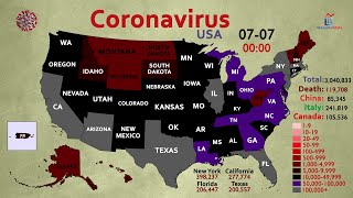 3 Million COVID-19 Cases in the United States (1% of US Population)