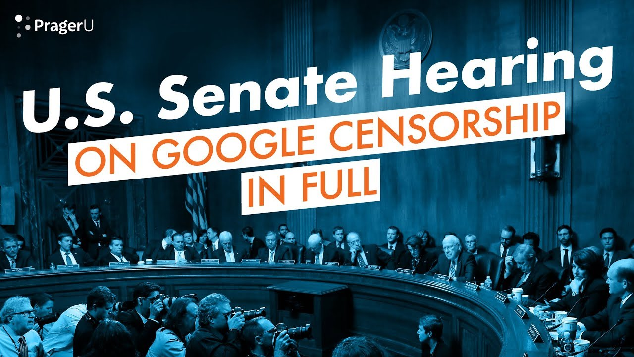 Dennis Prager and Google VP Testify Before the U.S. Senate on Tech Censorship