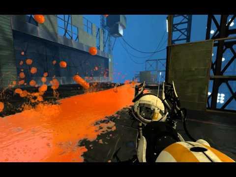 Portal 2 Co-Op Walkthrough - [ Course 5 - Level 7 ]