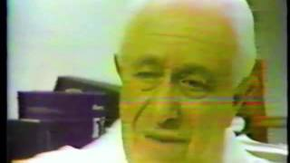 Dr. Selikoff  Talks About the Asbestos Tragedy 1982 Asbestos the way to dusty death