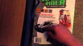 COOLEST TOY EVER? Wall Rider Anti Gravity Car unboxing