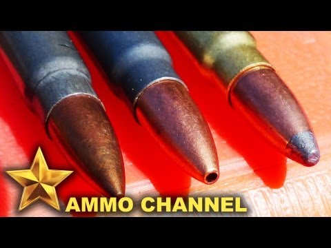 7.62x39 Bullet Expansion: Soft Point vs. Hollow Point vs. FMJ - Brown Bear, Golden Bear, TulAmmo, AK