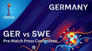 GER v. SWE - Germany Pre-Match Press Conference