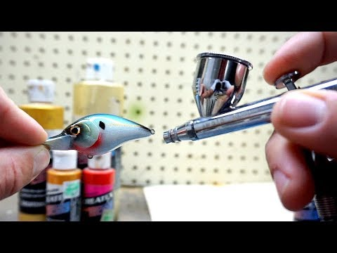 HOW TO CUSTOM PAINT A CRANKBAIT - Everything You NEED To Get Started!