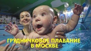 🔵Грудничковое плавание в  Кимберли. Внучка на тренировке в бассейне.Москва.