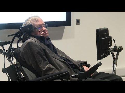 Hawking inaugurates British AI hub at Cambridge University