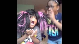 Perm it up video by Mallory and mylah