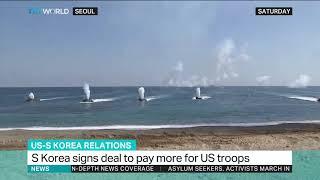 South Korea signs US troop deal