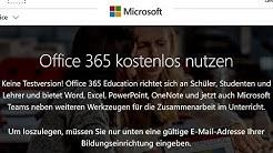 Microsoft Office kostenlos - Tutorial [2019, 365, Word, Excel, Powerpoint, deutsch, gratis, legal]
