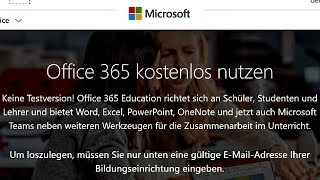Microsoft Office kostenlos - Tutorial [2019, 365, Word, Excel, Powerpoint, deutsch, gratis, legal]