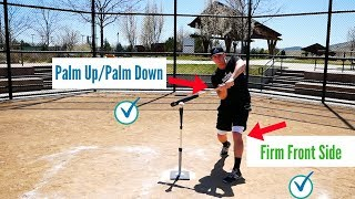 How To Hit A Basęball (BEGINNER'S GUIDE TO HITTING)