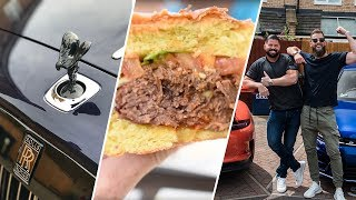 Burnouts, Biceps and Burgers - EP. 7 Lenny The Geeza | ARM WORKOUT