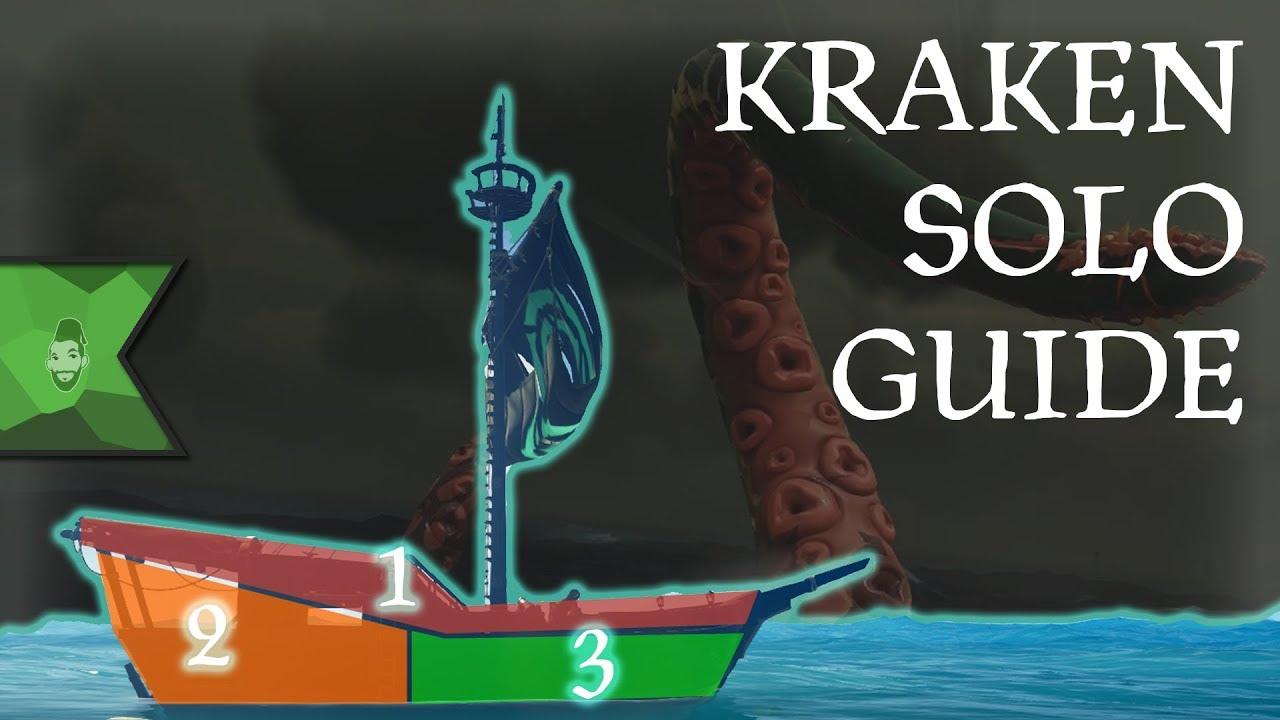 Sea of Thieves: Kraken Solo [FULL GUIDE]