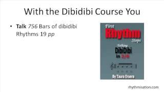 Rhythmisation Dibidibi Rhythm Vocabulary Sixteenth 16th Note Rhythms Rhythmisations