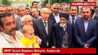 MHP Genel Başkanı Bahçeli, Ankara Kazan'da