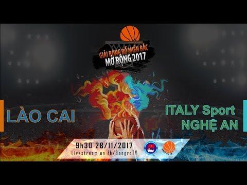 GAME 13: LÀO CAI - ITALY SPORT NGHỆ AN