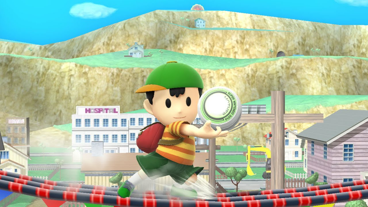 Ness in Super Smash Bros. 4 Rumors « EarthBound Central