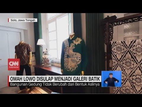 Omah Lowo Disulap Menjadi Galeri Batik