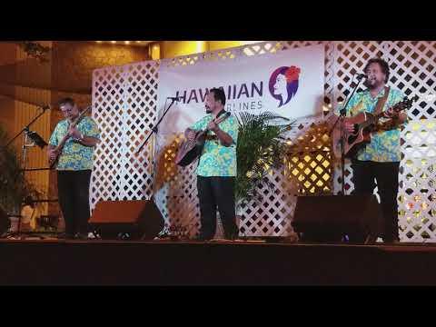 Makaha Sons perform at the 2017 Waikiki Hoolaulea - Part 1