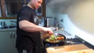 3087 - Kangaroo Stir Fry