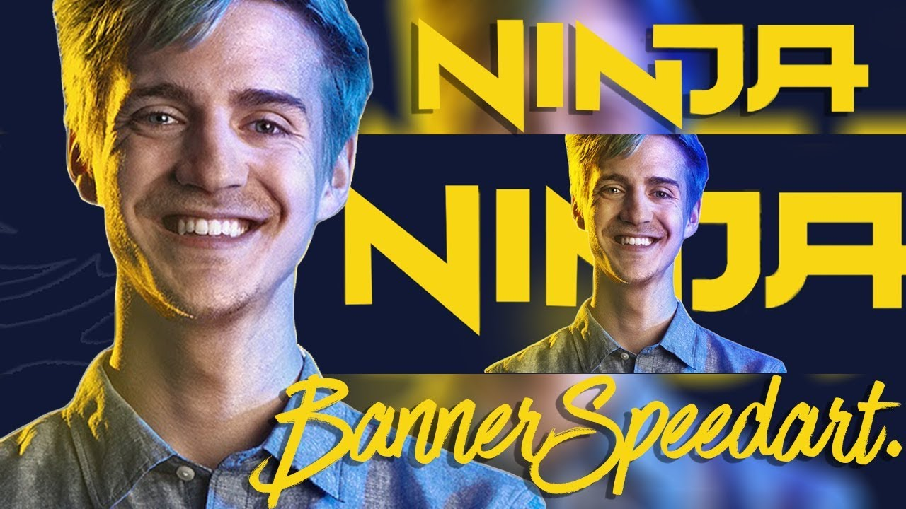 Ninja Youtube Banner Speedart Ninja Youtube