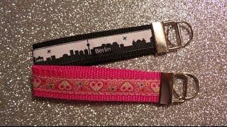 DaIsY´s DIY - Schlüsselband aus Gurtband selber nähen