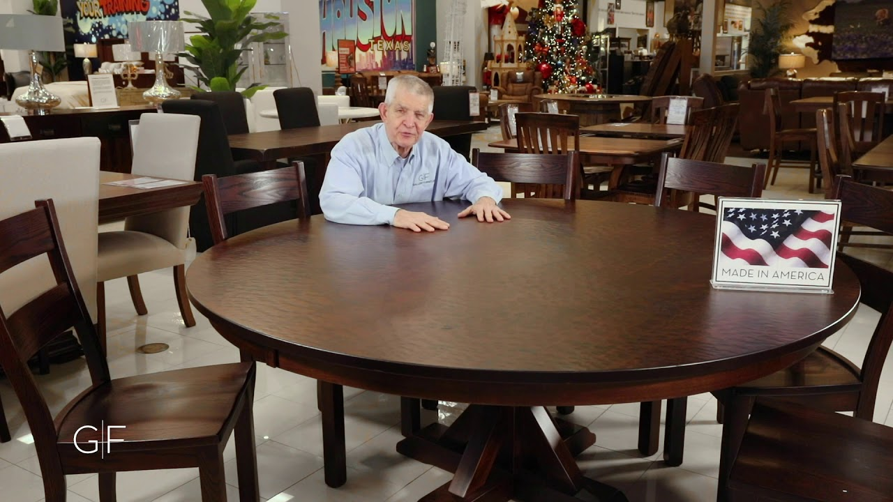 Henderson 72 Round Dining Table