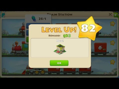 TOWNSHIP LEVEL 82 GAMEPLAY