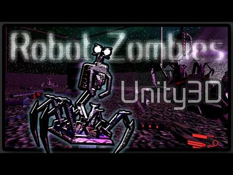 Robot Zombies [Indie Sci-fi FPS game, Unity3D, Free]