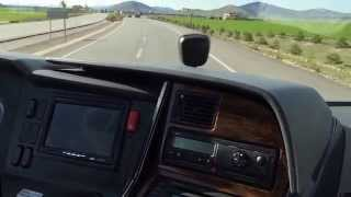 Mercedes Benz Travego 10 günlük Ege Akdeniz turu dönüşü Antalya İstanbul (JollyTours)