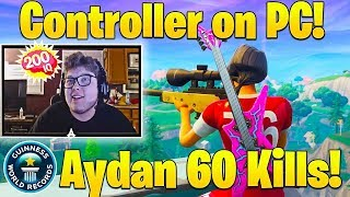 """BEST Console Player """"Ghost Aydan"""" 61 Kill *World Record* (Controller)"""