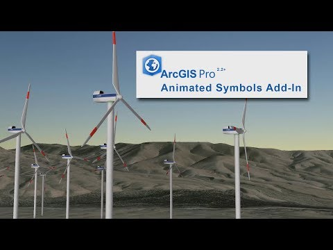 Animated Symbology: Animate Windmills, Pointing Arrows
