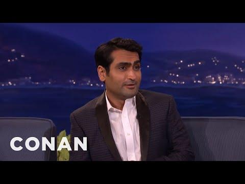That Time Kumail Nanjiani Crapped His Pants   CONAN on TBS