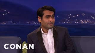 That Time Kumail Nanjiani Crapped His Pants  - CONAN on TBS