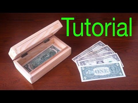 How to make a wood box simple safe for money youtube how to make a wood box simple safe for money sciox Images