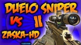 Mega-Duelo Épico Sniper - Ballista | VS ZaskaHD | ¡¡¡Walbang!!! :: Black Ops 2