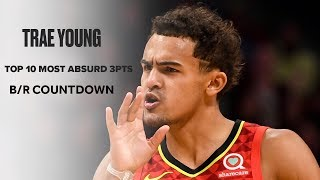 Trae Young's Top 10 Most Absurd Deep Threes   B/R Countdown
