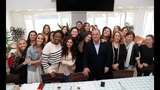 8 Mart Dünya Kadınlar Günü, Florya Metin Oktay Tesisleri'nde kutlandı.