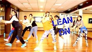 Zumba Fitness Routine on LEAN ON  Choreography By Vijaya Tupurani
