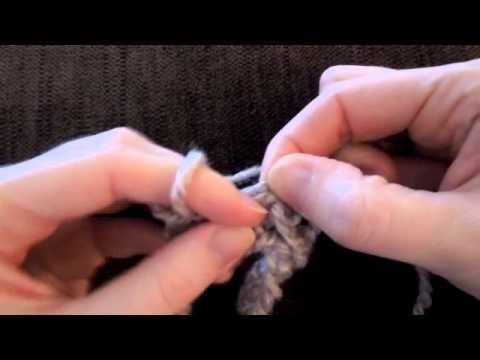 Crochet) How To - Finger Crochet - YouTube