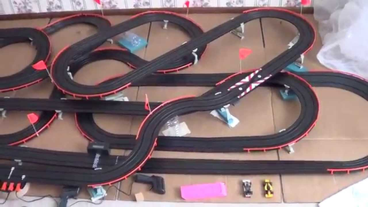 Afx electric slot car track,general maintenace tips and tricks