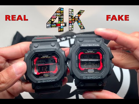 Casio G-shock GX56 KING - Real Vs Fake Comparison and Review - IN 4K