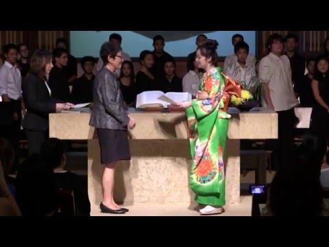 2016 Punahou School Japanese Language Department Graduation Ceremony (May 18, 2016)